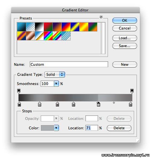 Создаем в фотошопе стильный (статичный) мерцающий эффект для текста