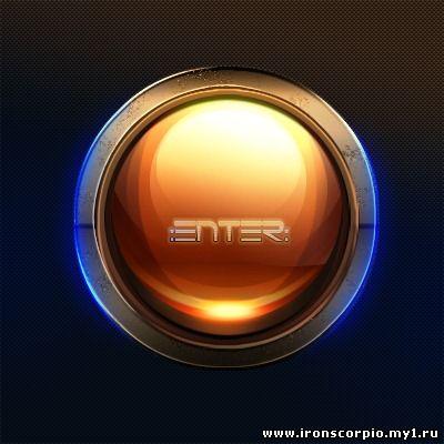 Уроки фотошоп глянцевая круглая кнопка для сайта